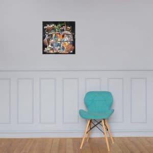 Dopamine Framed Poster